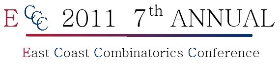 East Coast Combinatorics Conference 2011